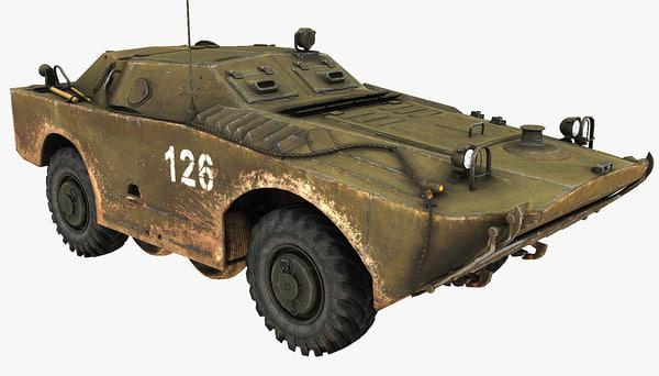 3d max soviet union vehicle