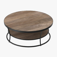 3d patio coffee table 02