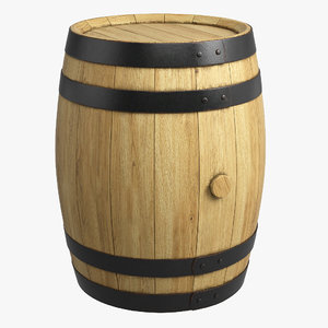 max wooden barrel