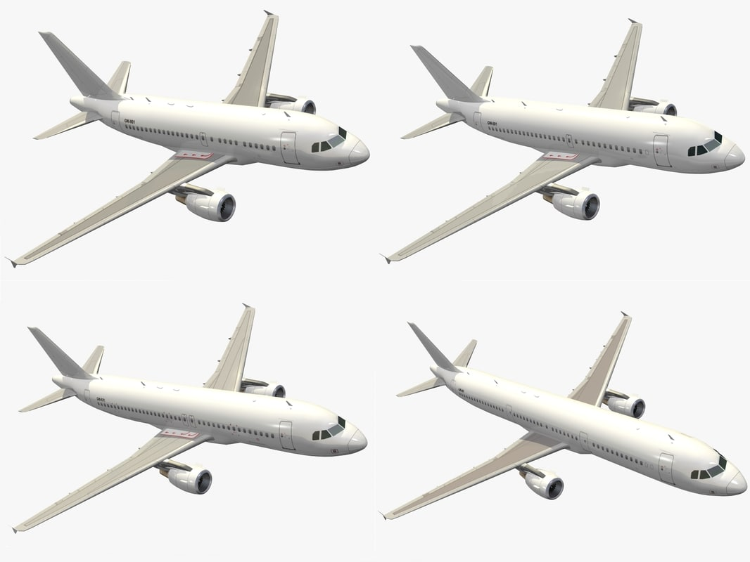 airbus a320 family dxf