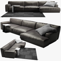 3d sofa poliform 2