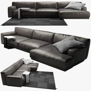3d sofa poliform 2