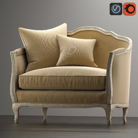 Sofa Mini Ondine Salon Bench