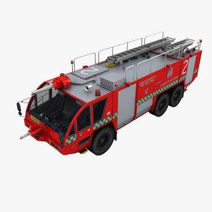 rosenbauer mk-8 truck 3d model