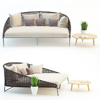 garden furniture 3d model
