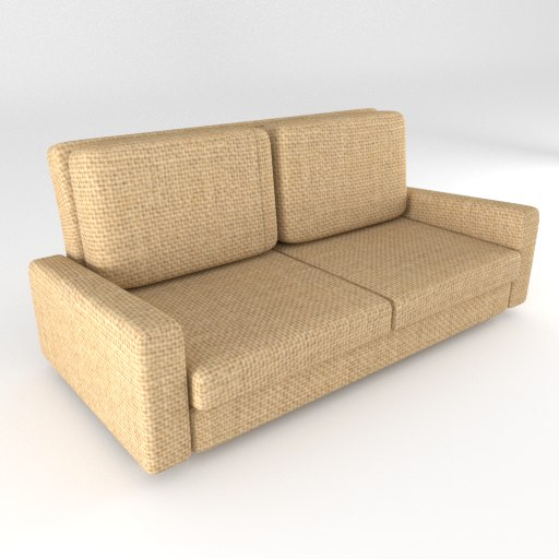 3d couch sofa dirty