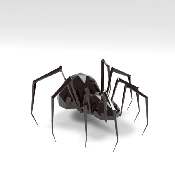 Spider low poly