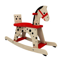 3d model toy rocking horse