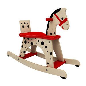 3d model toy rocking horse