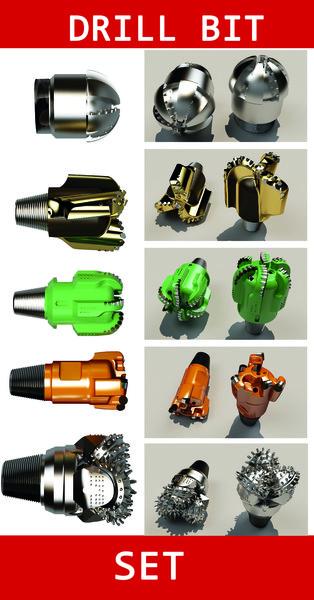 max tricone drill bit set