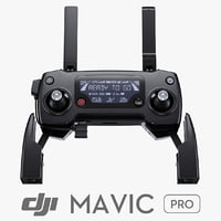 3d remote controller dji mavic model
