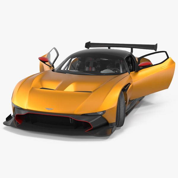 Aston Martin Vulcan 2016 Rigged