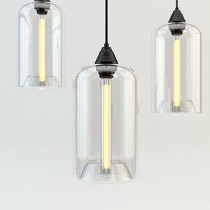gramercy home chandelier 3d model