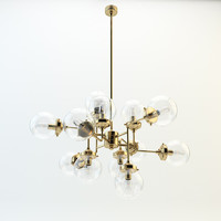 3d model sondra chandelier