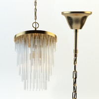 3d frederic chandelier model