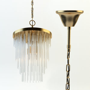 3d frederic chandelier model