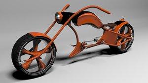 custom bicycle cycle 3d max