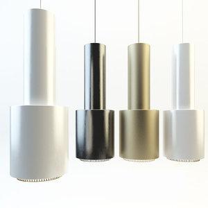 chandelier artek braas 3d max