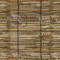 Bamboo Chick Blinds  [4K Tileable Texture]