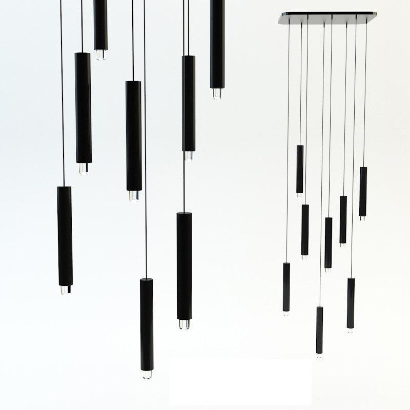 3d chandelier tradition copenhagen model