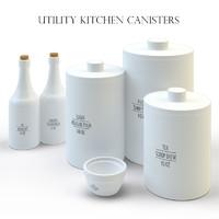 kitchen accessories 3d max