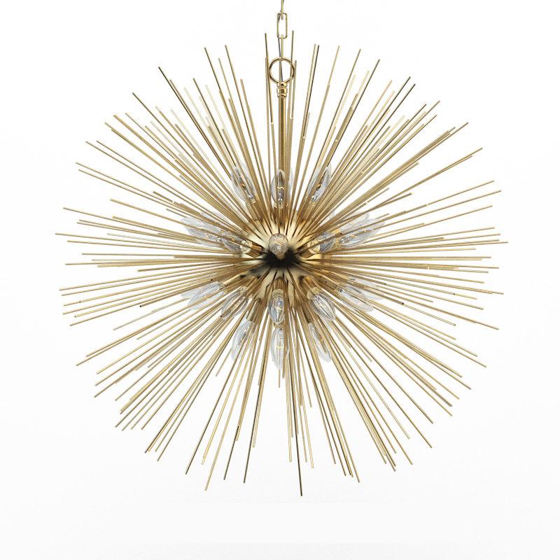 leontyne chandelier 3d model