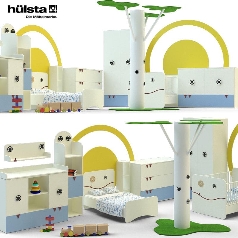 3d model children s room