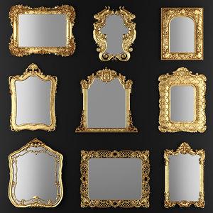 mirrors 3d max
