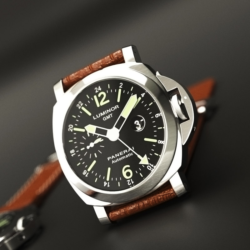 3d wristwatch watch wrist