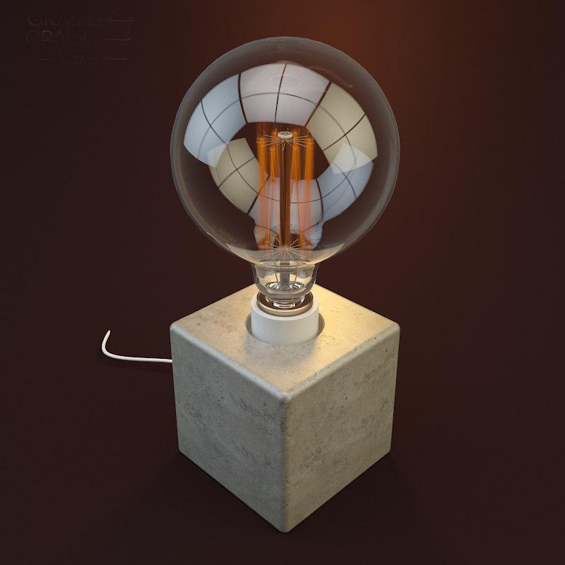 gramercy home - cube 3d max