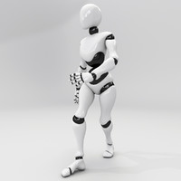 Animated Dancing Robot