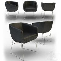 chair alivar 3d max