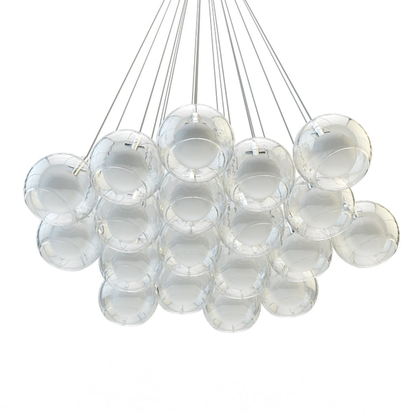 chandelier double alma light 3d model