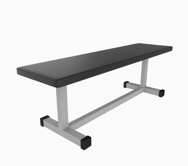 bench gym 3d 3ds