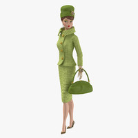 c4d barbie doll classic 02