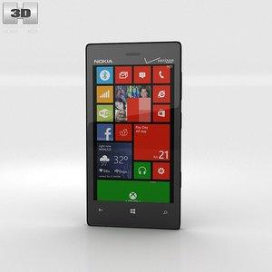 nokia lumia 928 3d fbx