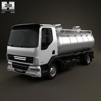 daf lf tanker 3d max