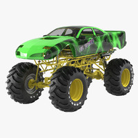 el toro monster truck 3d model