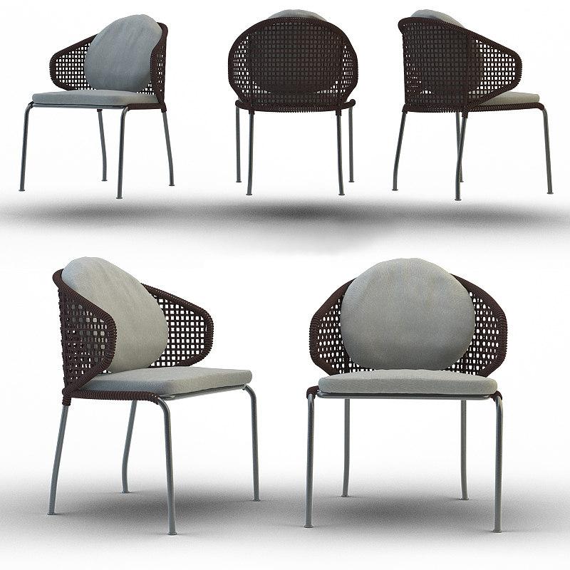 3d aston cord outdoor chair