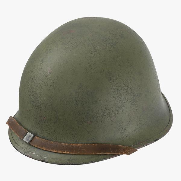 3d model m1 combat helmet cover