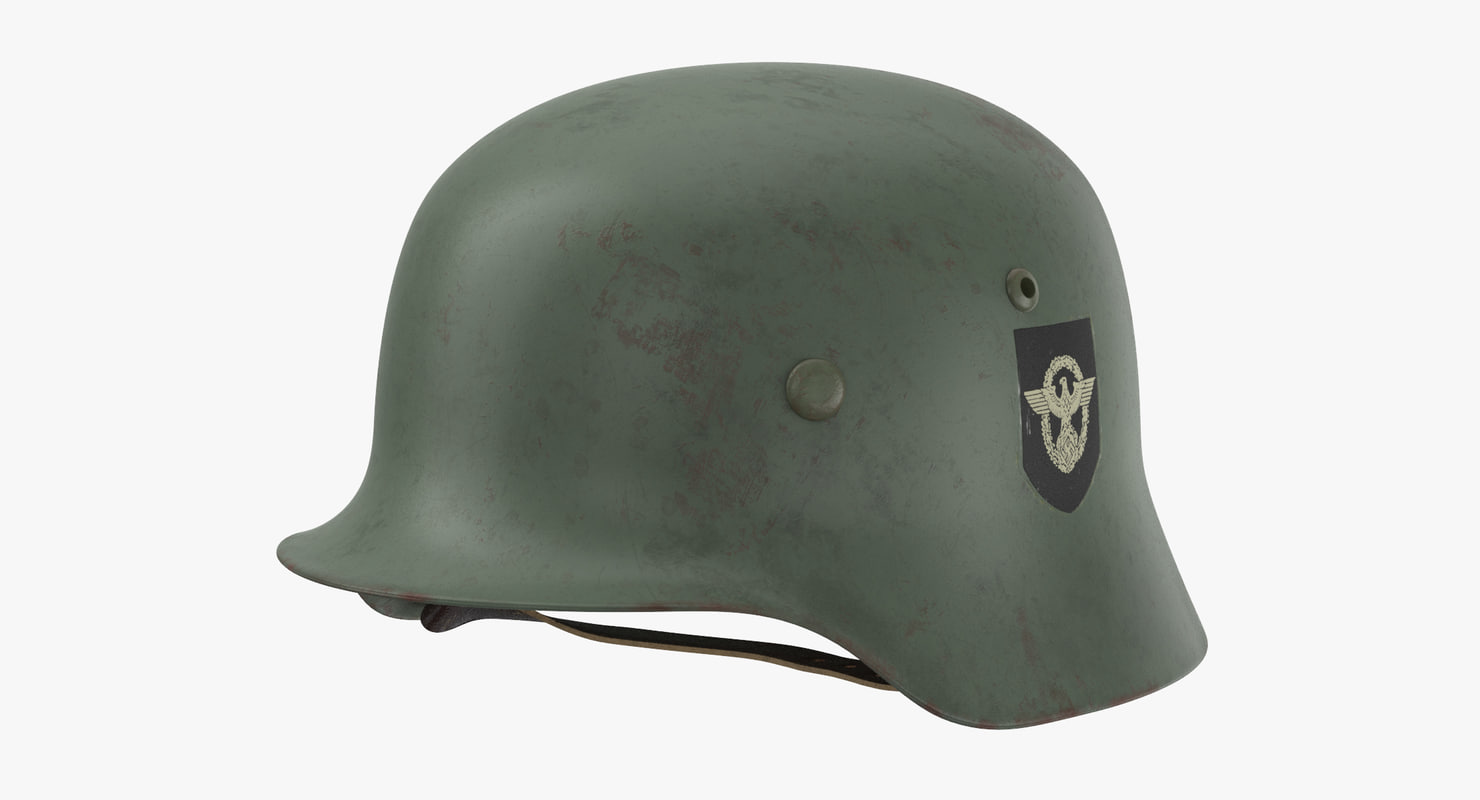 3d model german wehrmacht helmet wwii