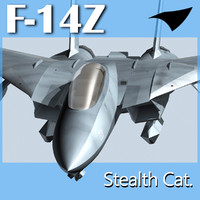 F-14Z- Stealth Cat