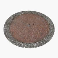 Manhole Cover 20