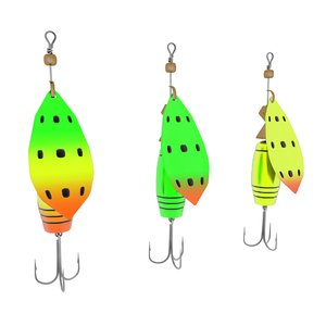 3d fishing lure model