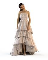 v-ray wedding evening dress 3d max