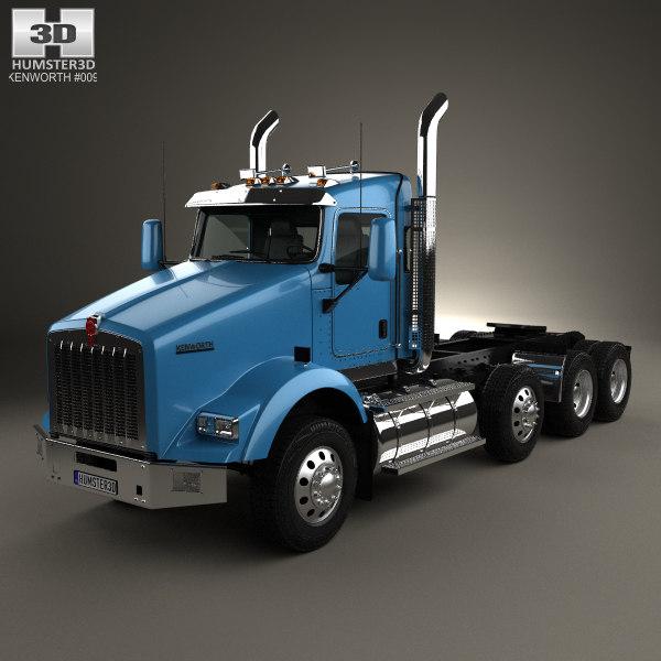 t800 800 4-axle model
