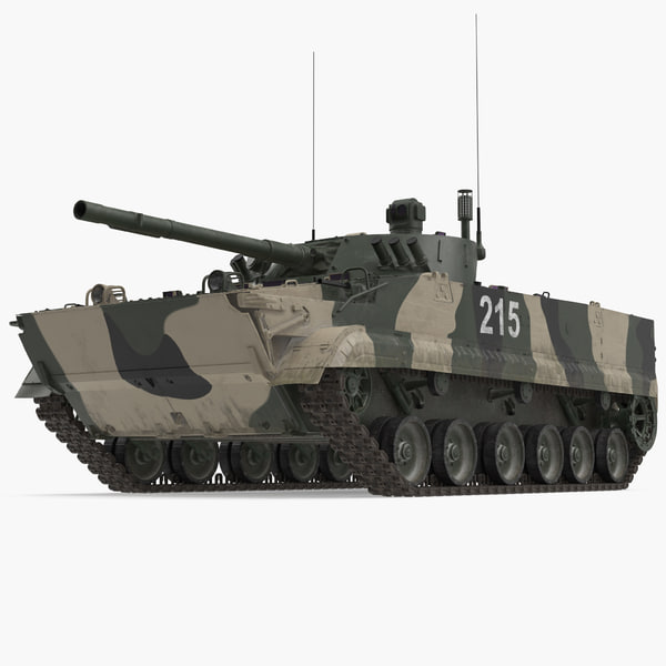 3D infantry fighting vehicle bmp-3