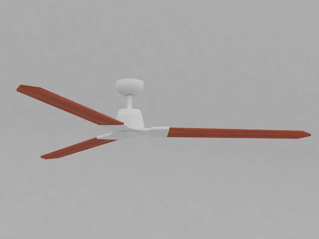 wylde ceiling fan 3D
