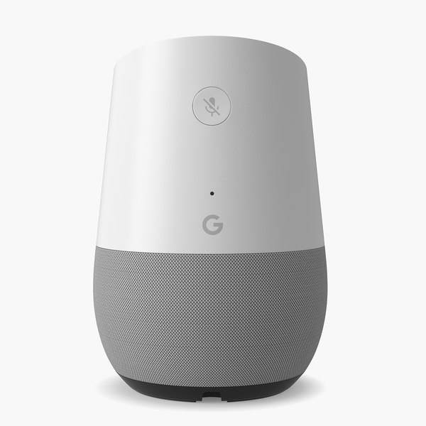 google home smart 3D model