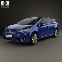 toyota avensis t270 3D